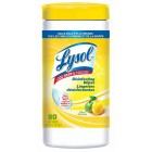 Lysol Sanitizing Wipes - Citrus - 80/Carton