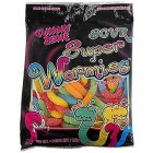 Gummy Zone Sour Super Wormies - 24 Pack/120 Gram