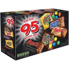 Mars Assorted Fun Size Mini Chocolates 95 Pack