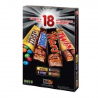 Mars Full Size Candy Bars Variety Pack - 18pk