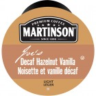Martinson Hazelnut Vanilla Decaf Coffee RealCups 24/Box
