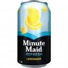 Minute Maid Refresh Lemonade Juice Beverage - 12 Pack/355 mL