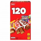Nestle Favorites Treat Sized Candy Bars 120pk