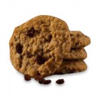 English Bay Batter Oatmeal Raisin Cookies - Frozen Unbaked - 256/28g