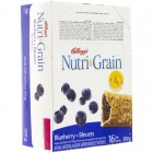 Kellogg's Nutri-Grain Cereal Bars - Blueberry - 16 Pack/37 Grams