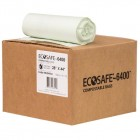 Eco Safe-6400 Compostable Bags - 28 x 44