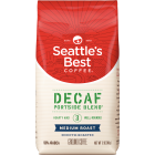Seattle's Best Coffee Decaffeinated Whole Bean - Portside Blend (Level 3) - 6 Pack/340 Grams (12 oz)