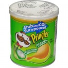 Pringles Grab & Go Potato Crisps Sour Cream & Onion 12/43g