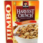 Quaker Harvest Crunch Cereal - Original - 1.8kg