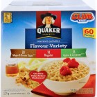 Quaker Instant Oatmeal Club Pack 60pk