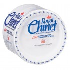 "Royal Chinet Dinner Plate - Paper - 10.375"" - White - 150 Count"