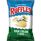 Ruffles Sour Cream & Onion Flavored Potato Chips 48/40 g