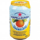 San Pellegrino Aranciata Orange Soda Cans 24/330mL