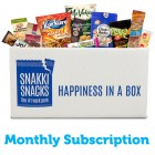 Snakki Snacks Monthly Subscription Box