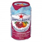 San Pellegrino Pomegranate and Orange Sparkling Beverage - 24 Pack/330 mL