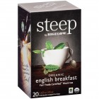 Bigelow Steep English Breakfast Tea - 20/Box