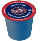 Timothy's French Roast Coffee K-Cups 24/Box