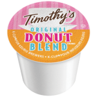 Timothy's Original Donut Blend Coffee K-Cups 24/Box