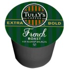 Tully's French Roast Coffee K-Cups 24/Box