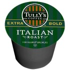 Tully's Italian Roast Coffee K-Cups 24/Box