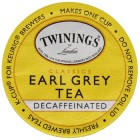 Twinings Decaffeinated Earl Grey Tea Keurig K-Cups 24 Count