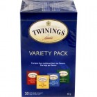Twinings Variety Pack Black Teas 20pk