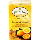 Twinings Lemon & Ginger Herbal Tea 20pk