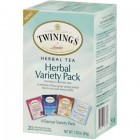 Twinings Tea Herbal Variety Pack - 20pk
