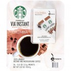 Starbucks Via Instant Coffee - Colombia - 26 pk