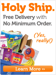 Free Delivery No Minimum Order