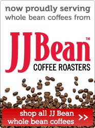 Now serving JJ Bean coffee!